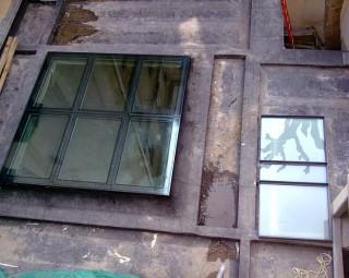 Plancher en toiture