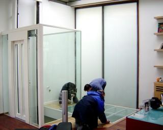 Plancher & cage ascenseur
