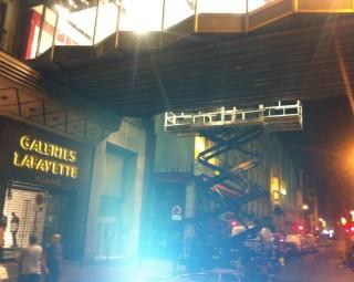 Levage - Galeries Lafayette - Haussman